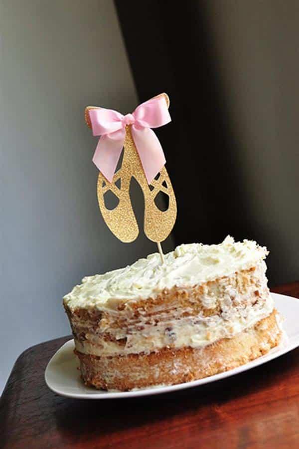 bolo de aniversario de bailarina