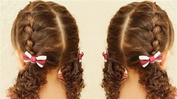 penteado com laços