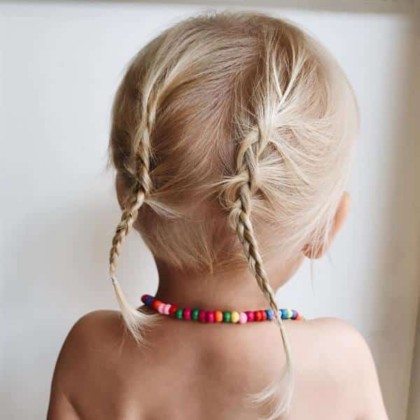 penteado para bebe