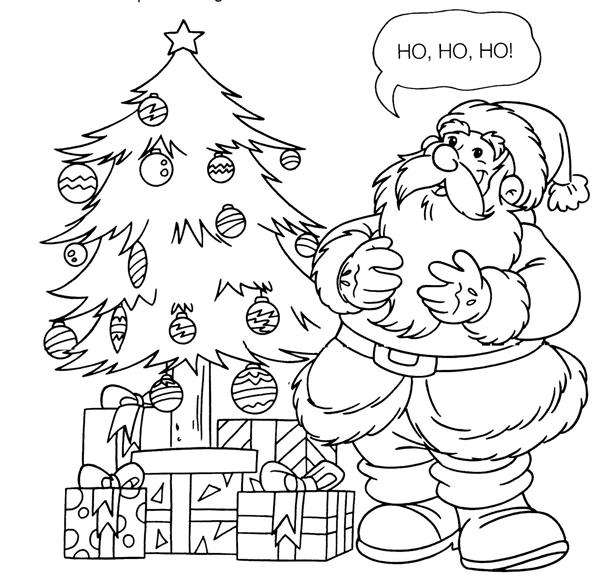 desenhos de natal simples