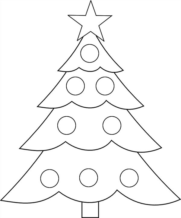 arvore de natal para desenhar