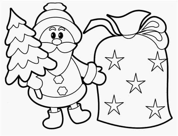 desenhos de natal faceis