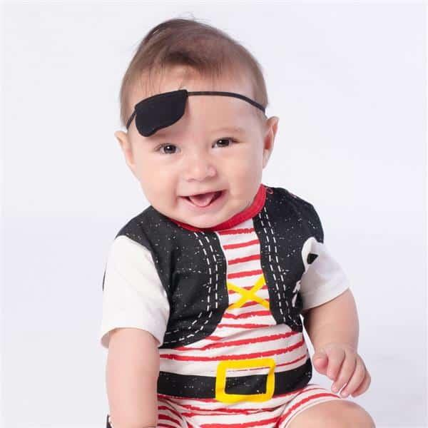 fantasia de pirata bebe