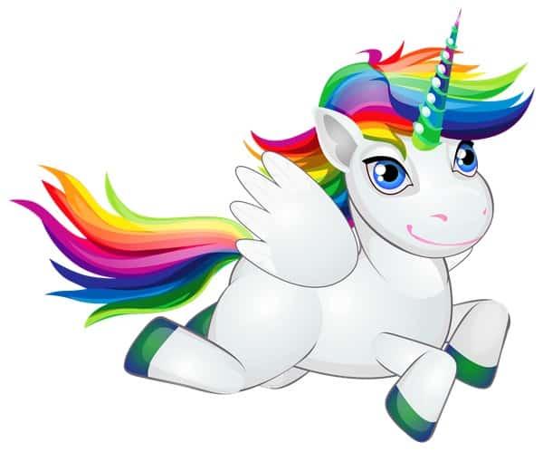 Desenhos De Unicornio Para Colorir E Coloridos