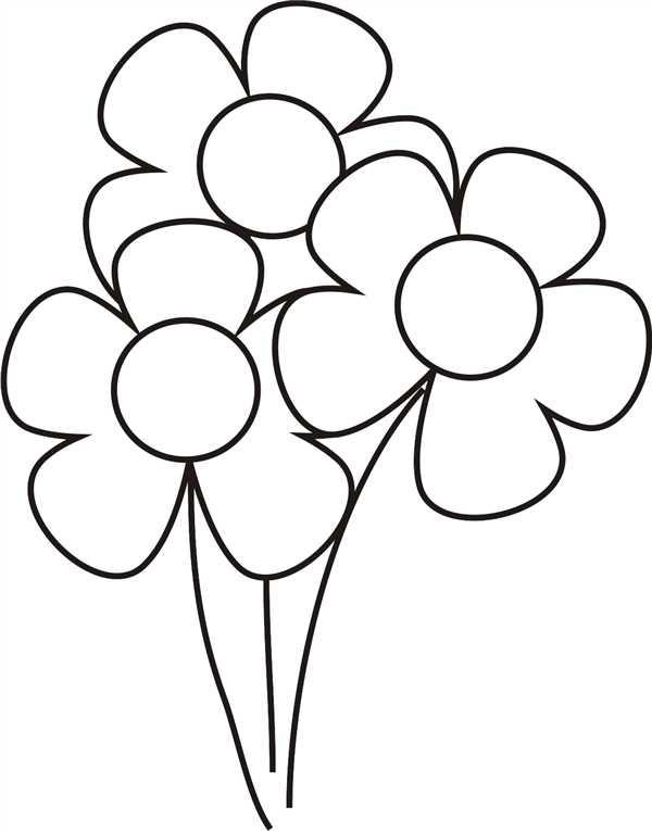 como desenhar uma flor