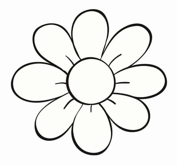 Desenhos De Flores 37 Ideias Para Colorir E Coloridas