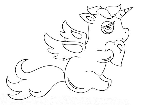 unicornio simples