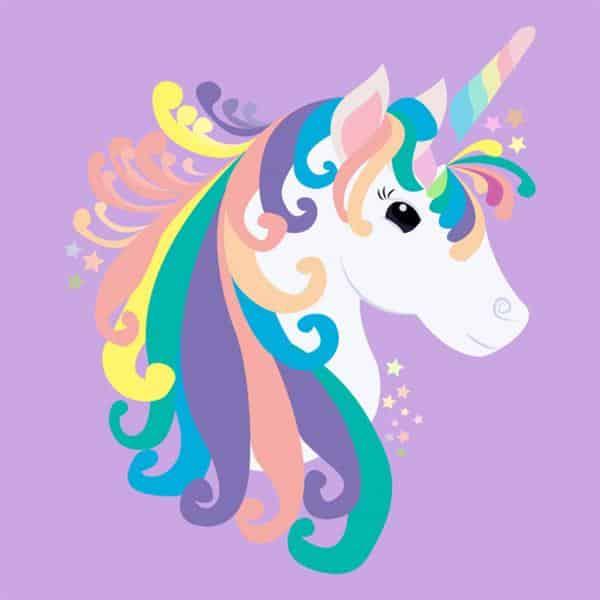 cabeça de unicornio