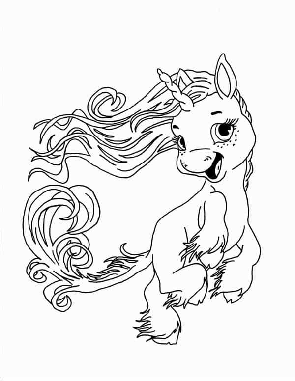 unicornio animado