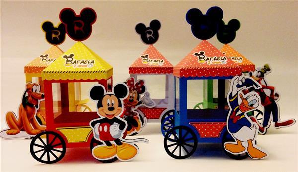 Carrocinha de Pipoca turma do Mickey