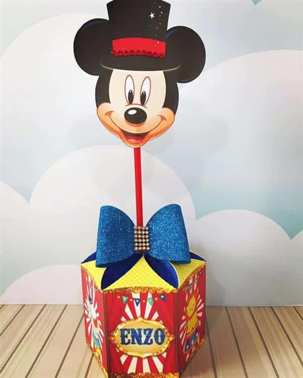 Lembrancinhas tema Circo do Mickey