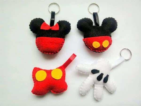 Lembrancinha Chaveiro Mickey