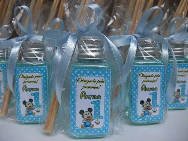 Lembrancinhas de aniversário do Mickey Baby