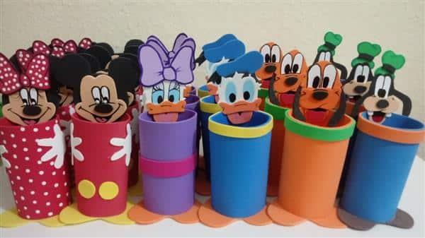 Lembrancinha turma do Mickey