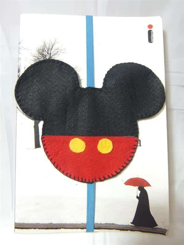 Marcador de Página Mickey