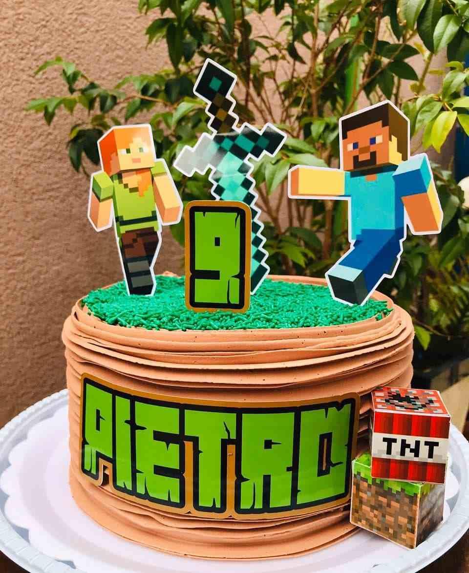 decoração de bolo