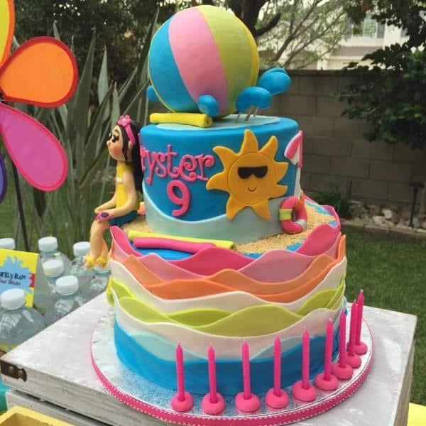 bolo verão