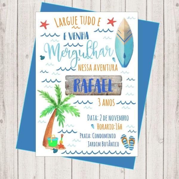 Convite surf