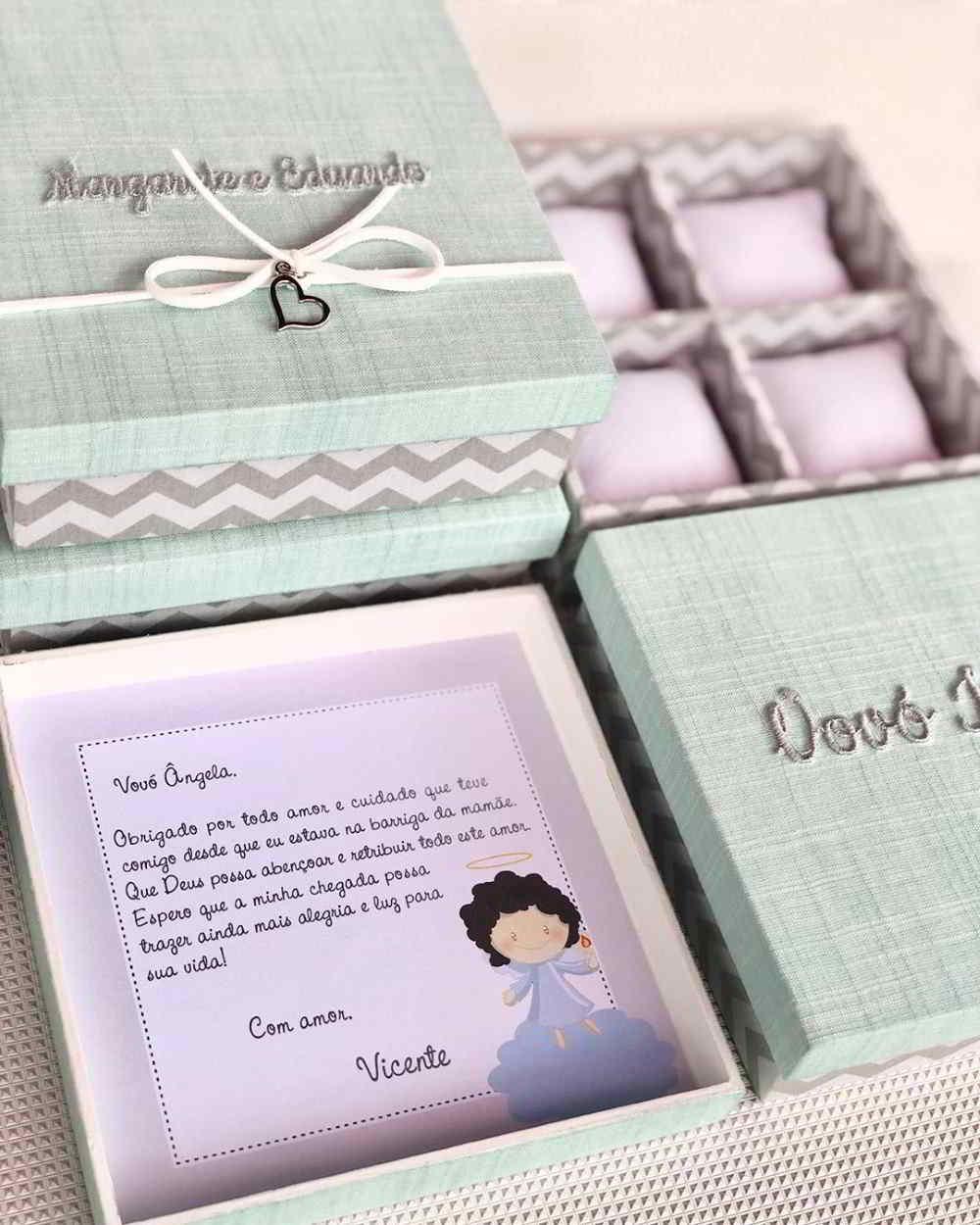 Caixa de bem nascido para vovó