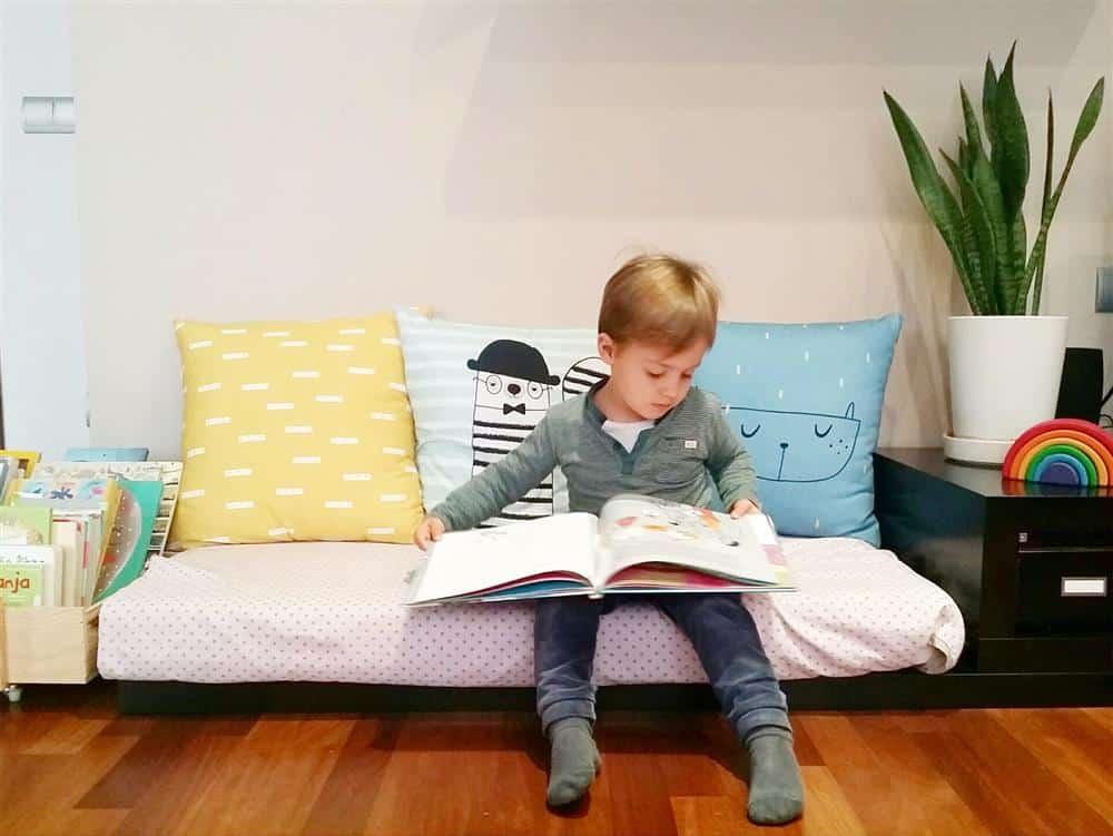 cantinho da leitura em casa