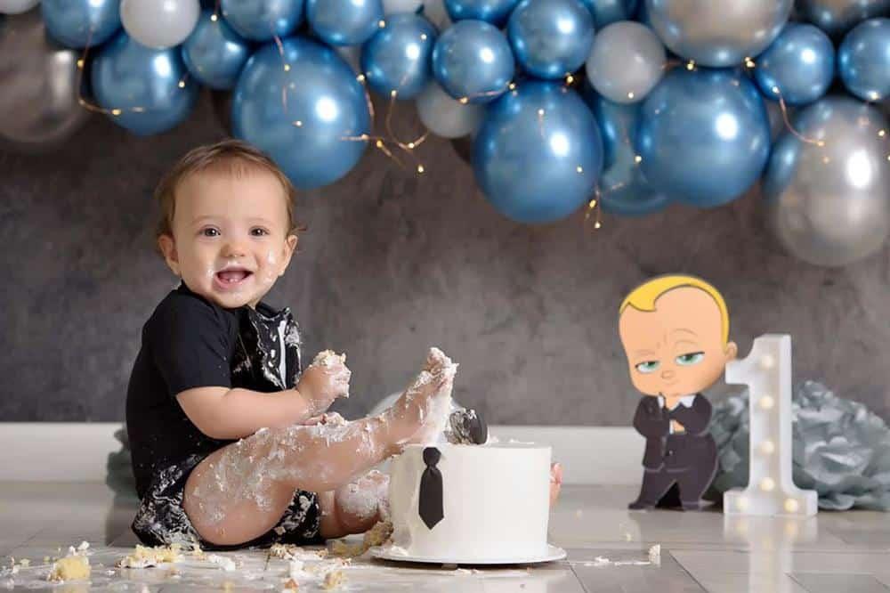 fotos smash the cake