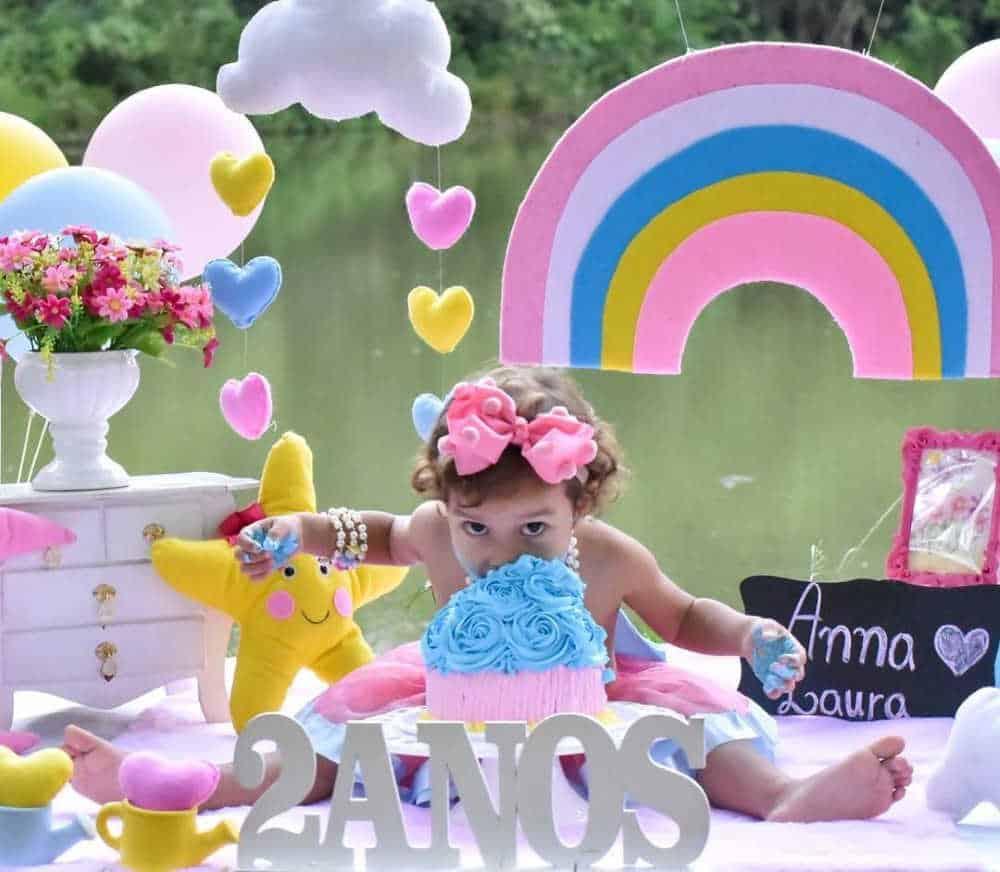 smash the cake ao ar livre