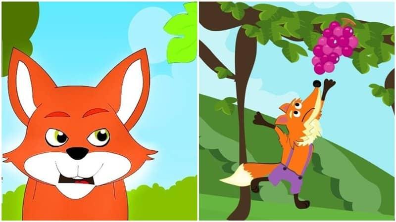 fábula a raposa e as uvas com interpretação
