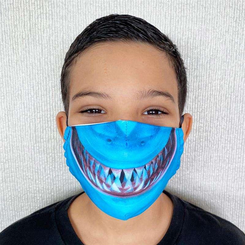tamanho mascara infantil