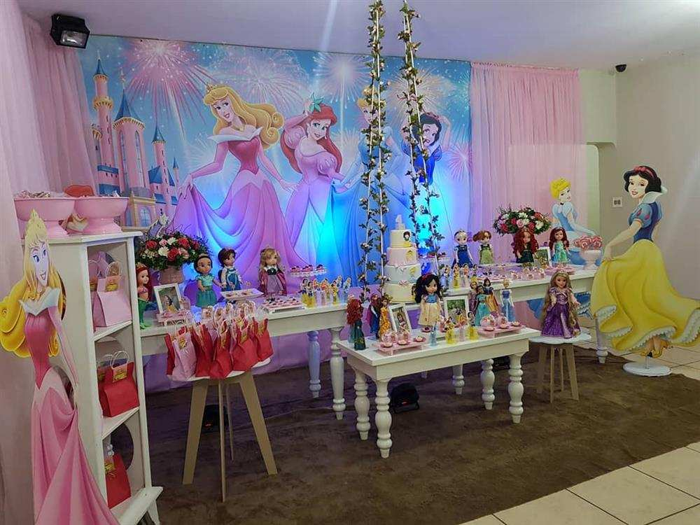 festa infantil das princesas
