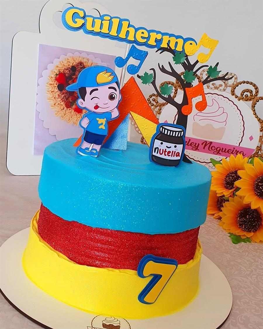 bolo do luccas neto de aniversário