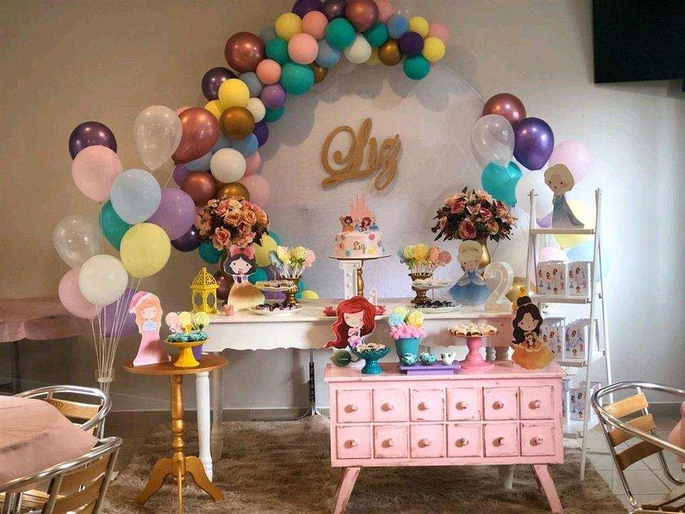 festa das princesas moderna