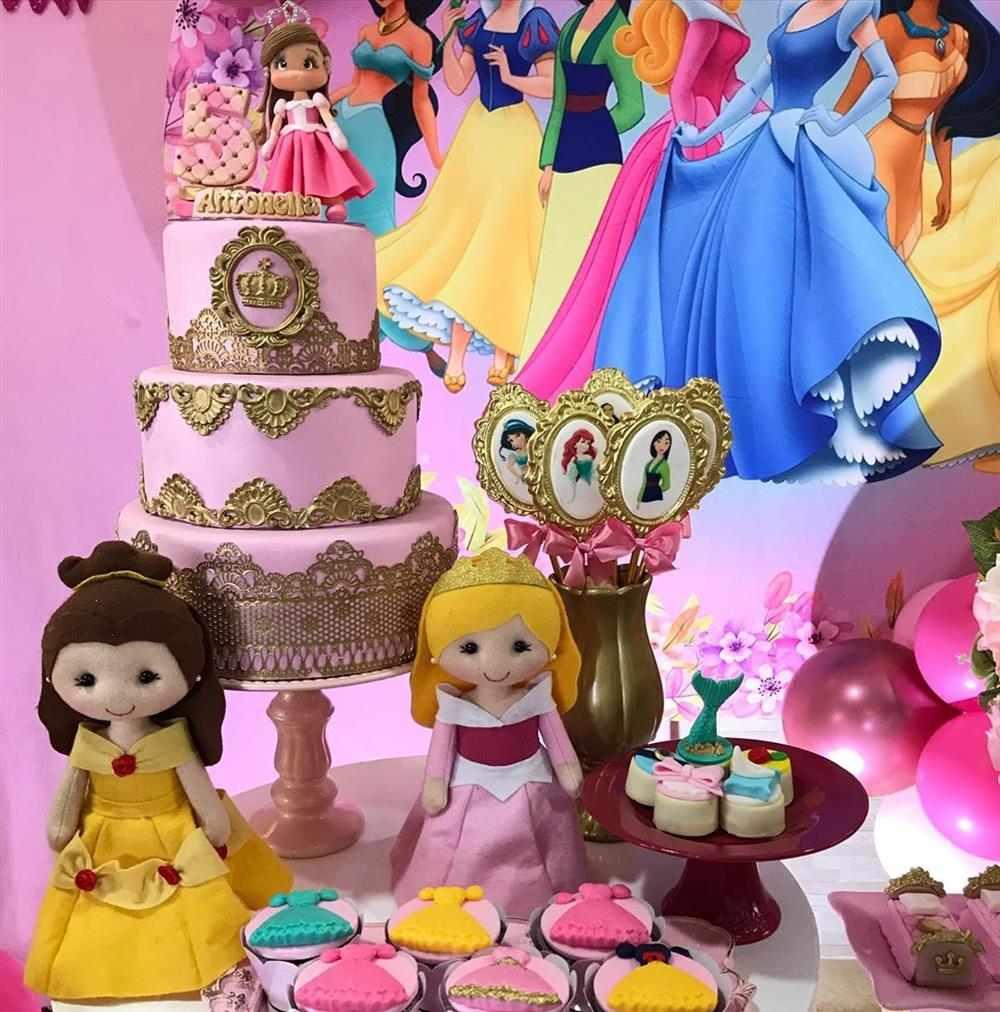 festa das princesas da disney