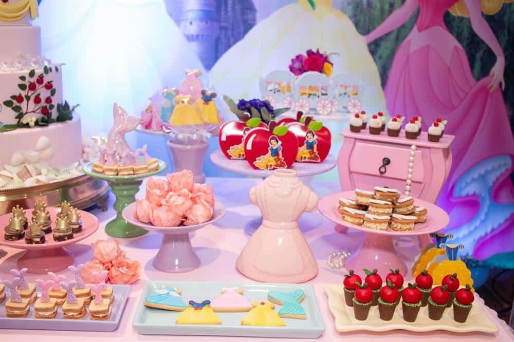 Festa das princesas da Disney luxo
