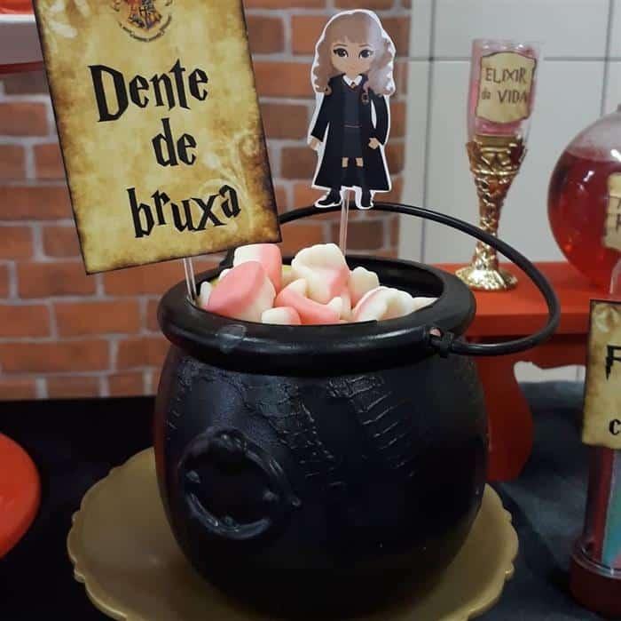 doces para festa harry potter