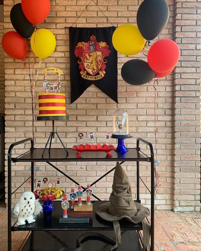 festa harry potter decoração