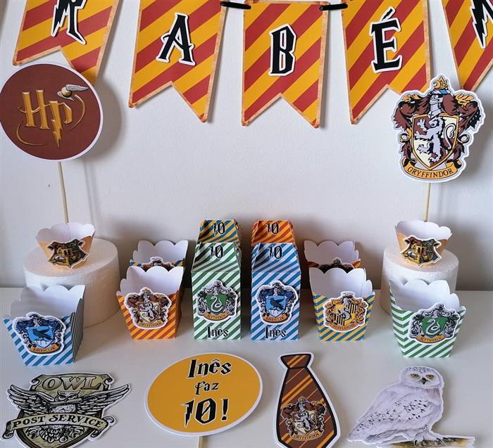 festa harry potter personalizados