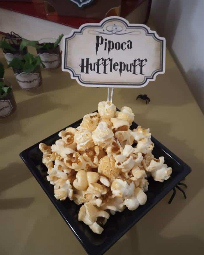 doces para festinha harry potter