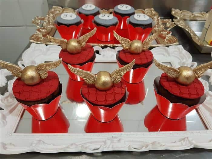 pomo de ouro festa harry potter