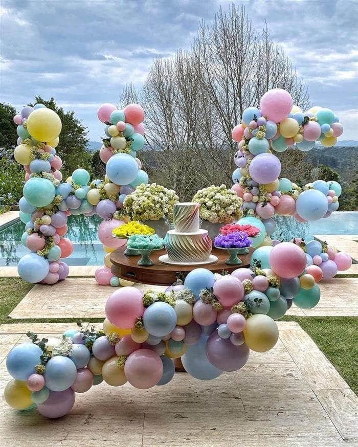 arco desconstruido candy color