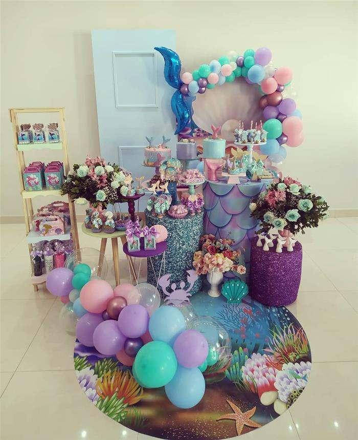 festa sereia aniversário