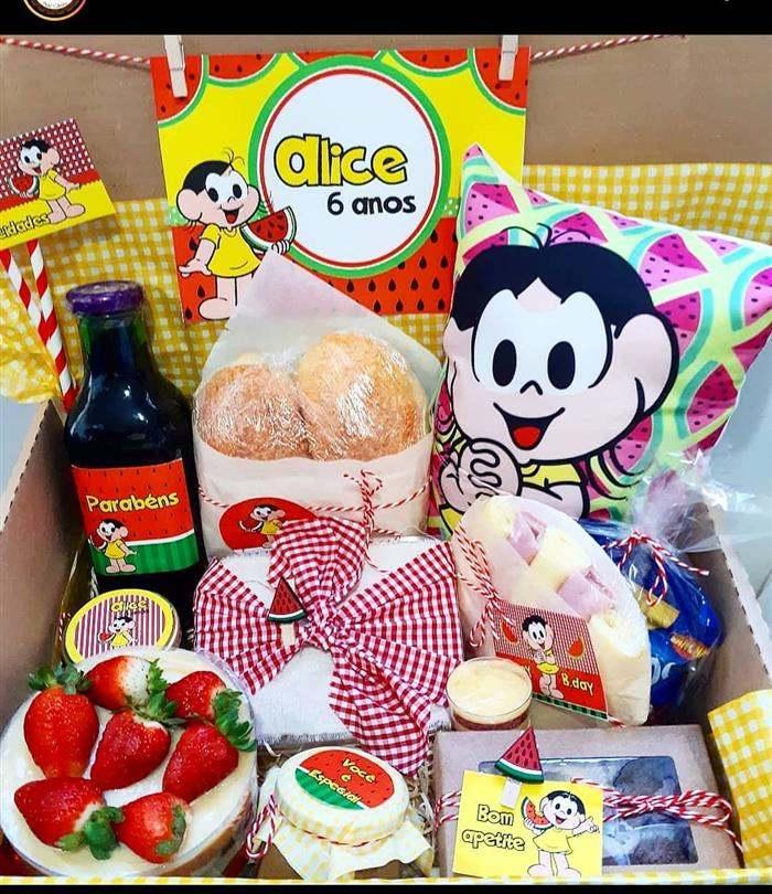 festa na caixa aniversário infantil