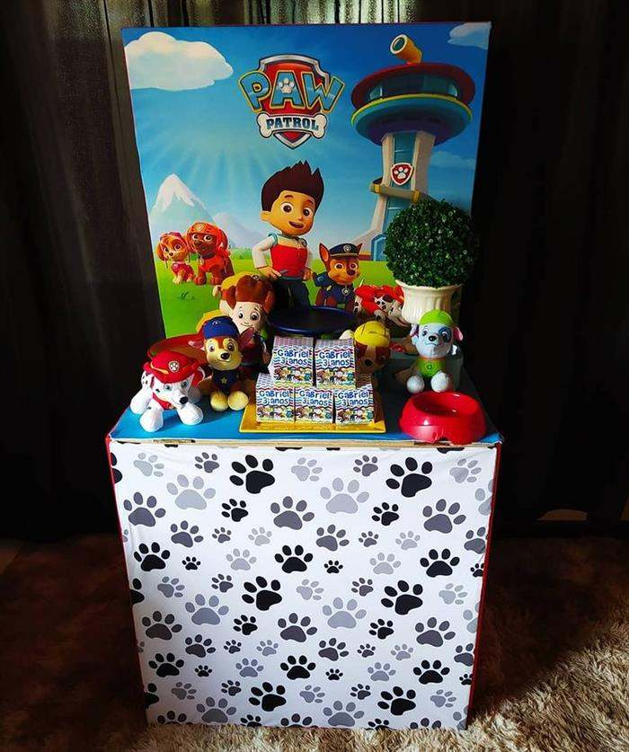 festa na caixa gigante infantil