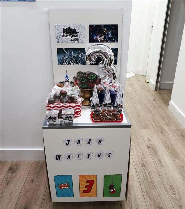 festa na caixa infantil decoração