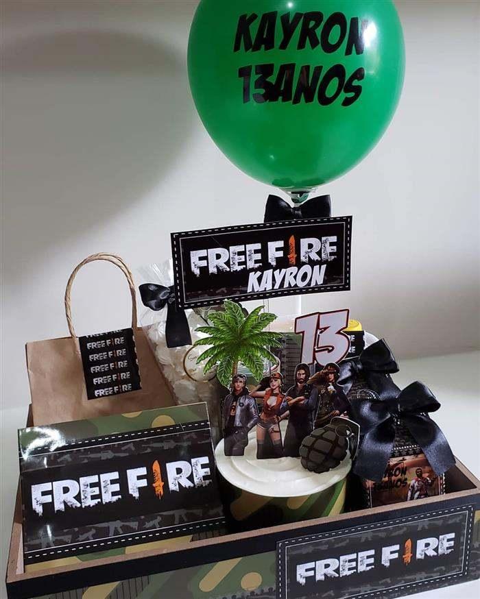 festa na caixa infantil free fire
