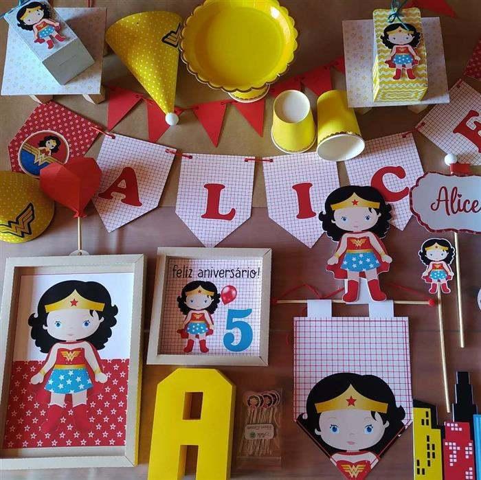 festa na caixa infantil personalizada