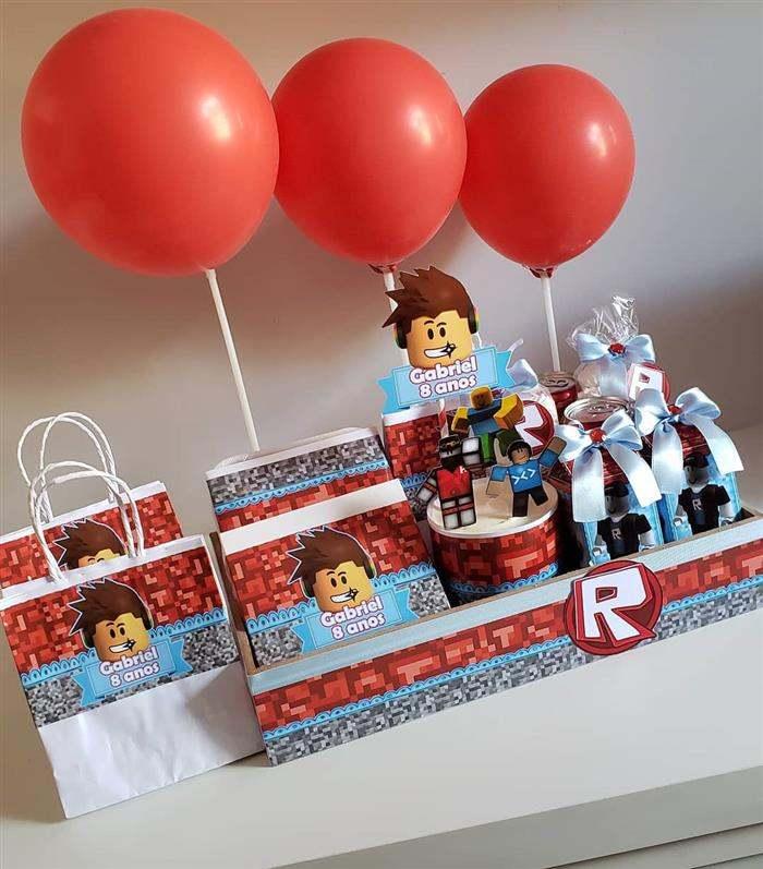 kit festa na caixa infantil