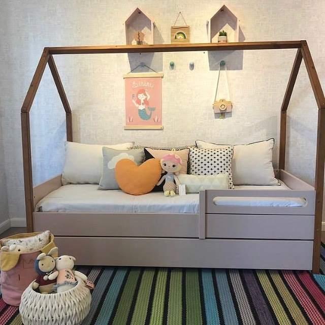 decoração de quarto infantil feminino montessoriano