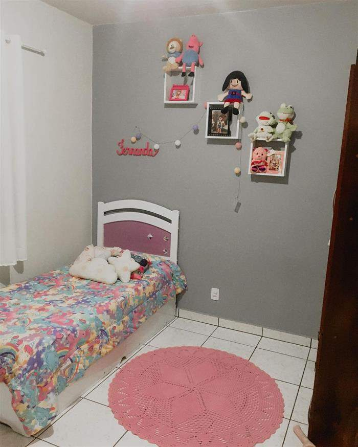 decoração de quarto infantil feminino simples e barato pequeno