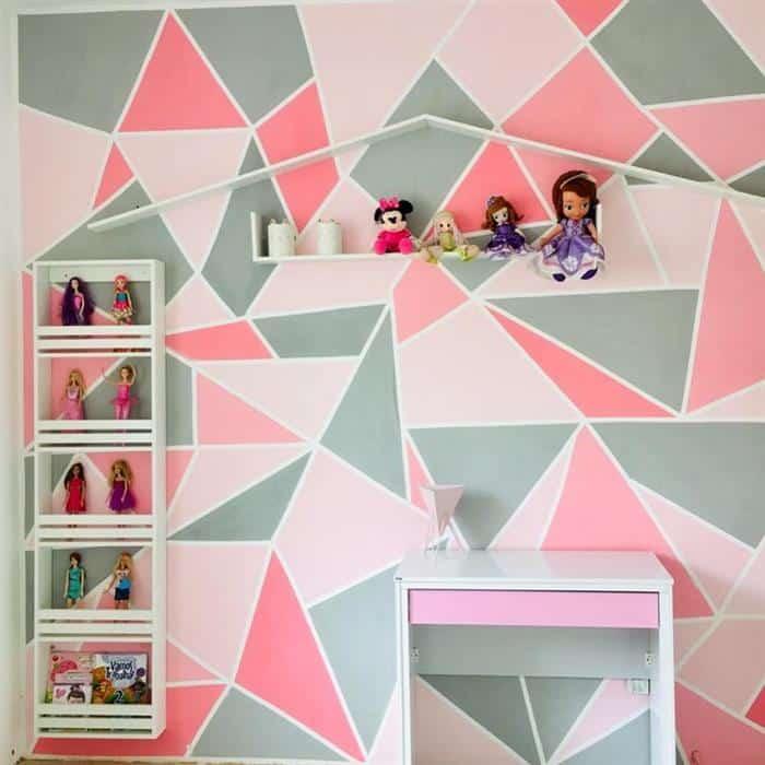 nichos para quarto infantil feminino