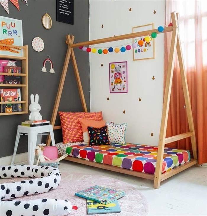 papel de parede quarto infantil feminino